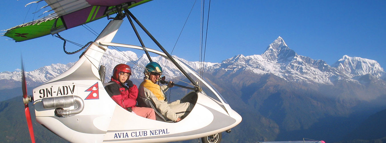 Ultralight Flight in Nepal